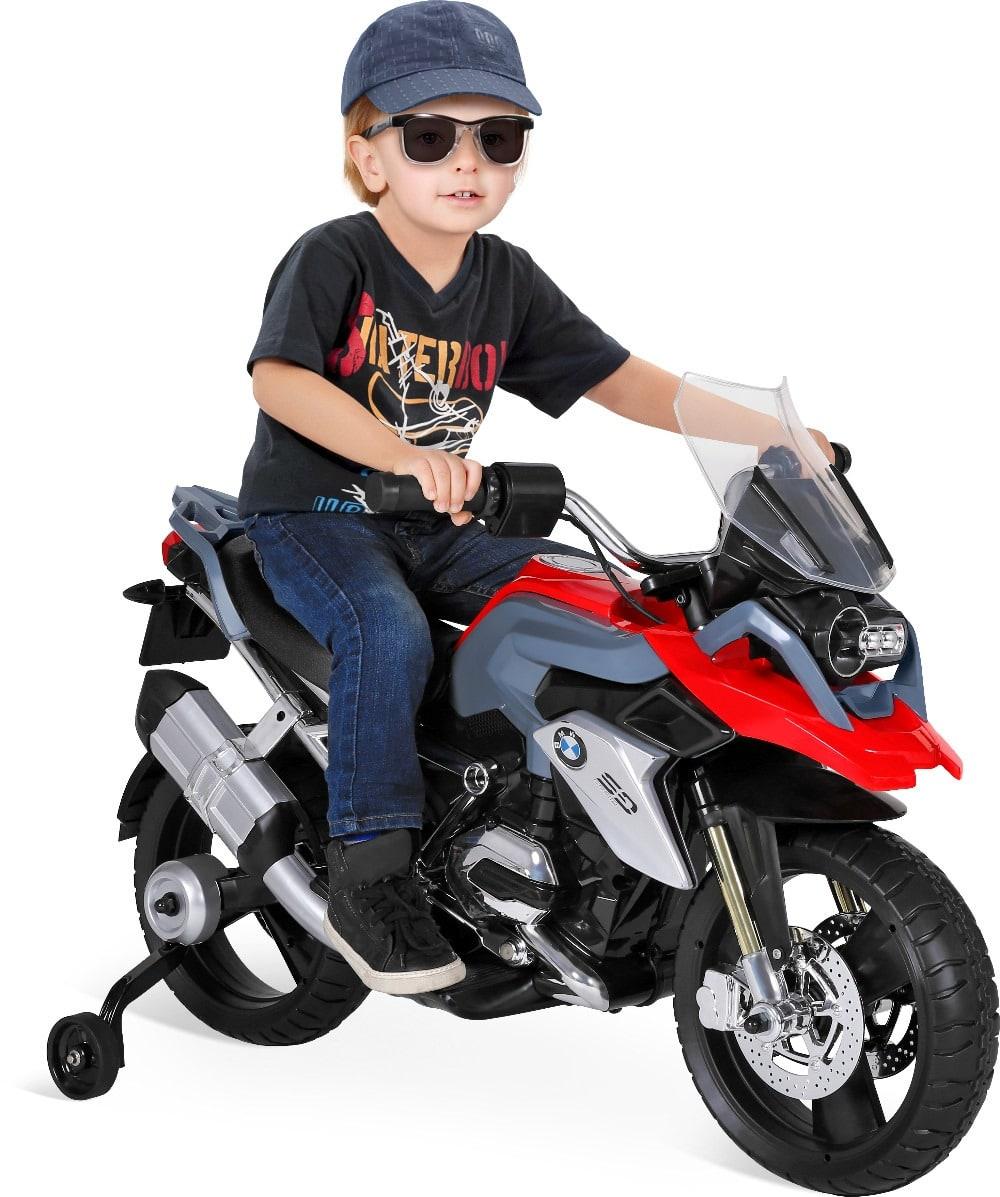 Lưu ý để bé chơi với xe moto điện trẻ em được an toàn 1