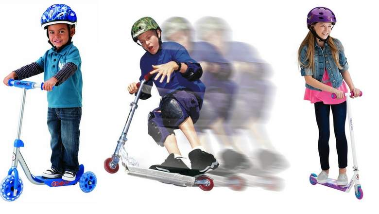 Trẻ em có thích hợp để chơi với xe trượt scooter không 2