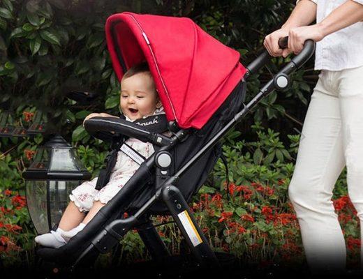 xe đẩy cho bé 6 tháng tuổi