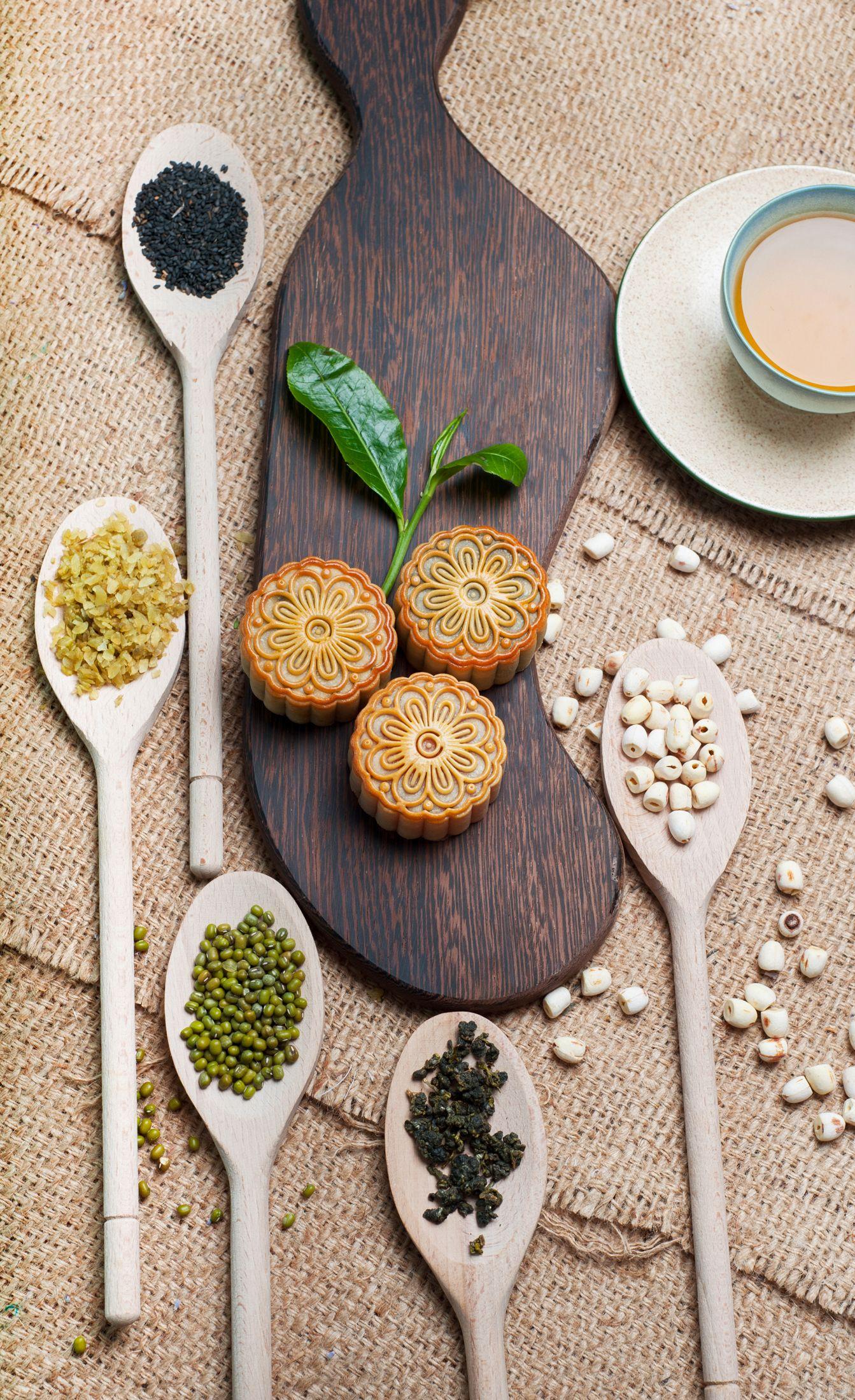 Cách làm bánh trung thu nướng nhân đậu xanh