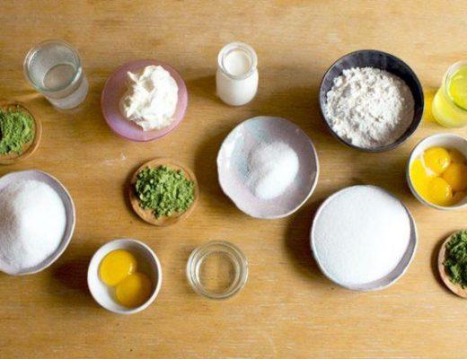 Cách làm bánh trung thu nướng trà xanh