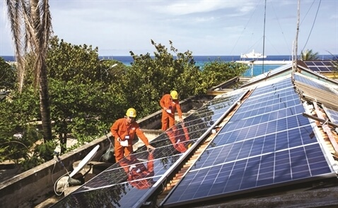 Cài đặt hệ thống năng lượng mặt trời