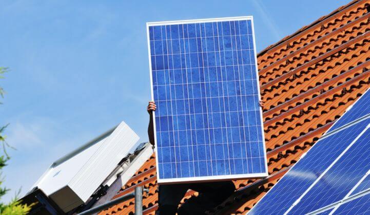 Hệ thống năng lượng mặt trời gia đình