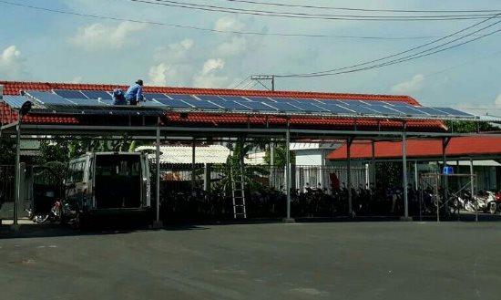 Ứng dụng năng lượng mặt trời