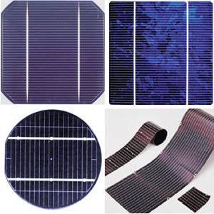 Cấu tạo các dạng pin mặt trời