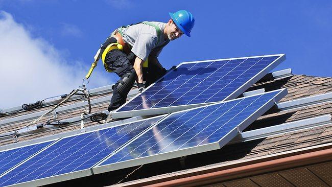 Kệ lắp tấm pin năng lượng mặt trời