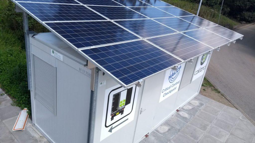 Hệ thống điện mặt trời dưới mặt đất