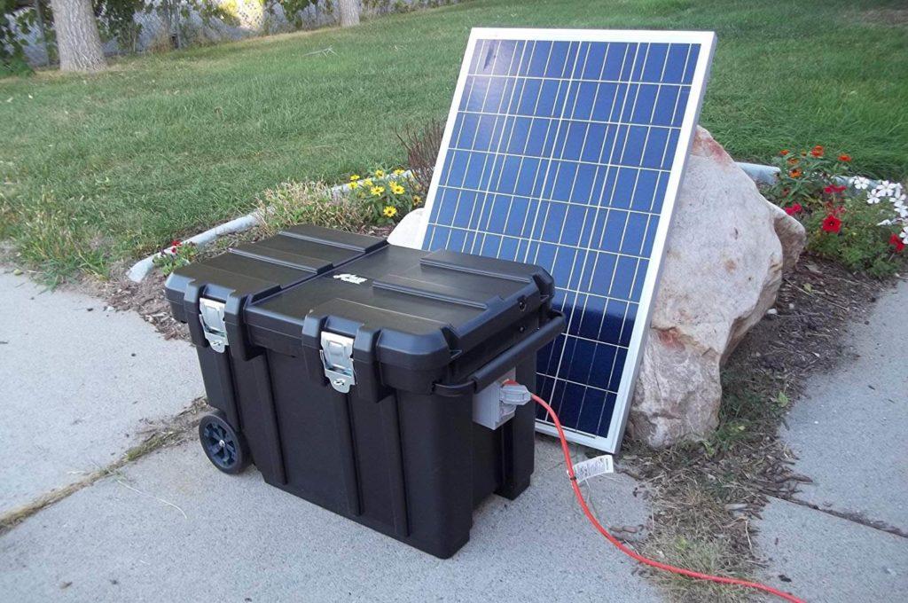 pin dự trữ năng lượng mặt trời