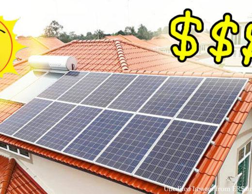 Chi phí lắp đặt năng lượng mặt trời trung bình là bao nhiêu