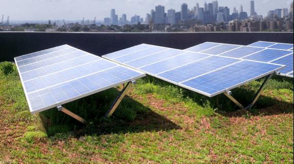 điện mặt trời trên mặt đất