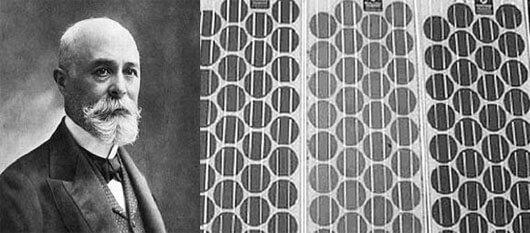 nhà phát minh ra tấm pin năng lượng mặt trời