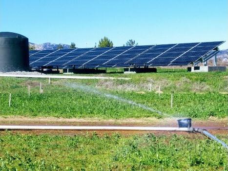 hệ thống tưới nước năng lượng mặt trời