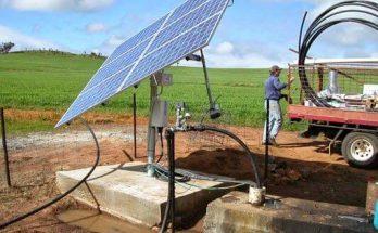 Lắp đặt hệ thống máy bơm năng lượng mặt trời