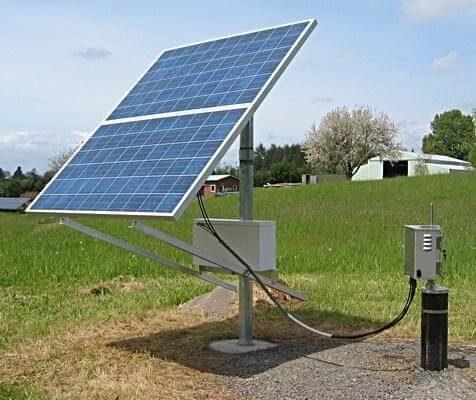 bơm nước năng lượng mặt trời
